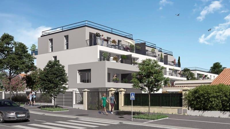 visuel 3d d'un programme immobilier neuf urbat à marseille