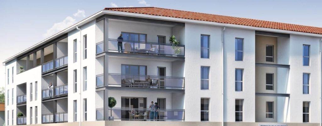 visuel 3d d'un programme immobilier neuf edelis à marseille