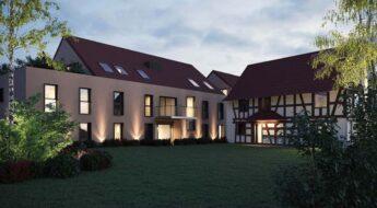 Perspective résidence neuve Grand Est