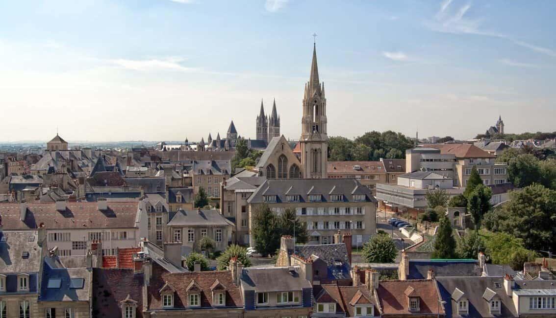 vue Caen vieille ville acheter appartement