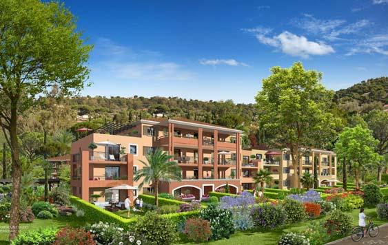 Groupe Duval appartement neuf Bormes-les-Mimosas