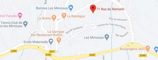 plan résidence neuve Bormes-les-Mimosas