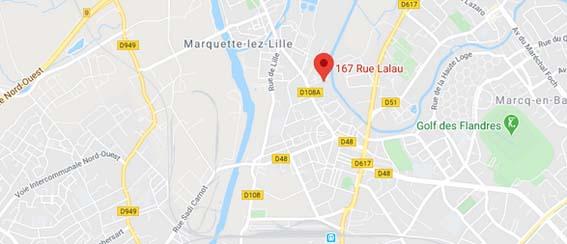 plan appartement neuf MArquette-lez-Lille