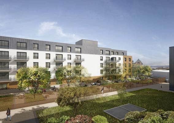 Groupe Duval espace Révolution Limoges appartements neufs