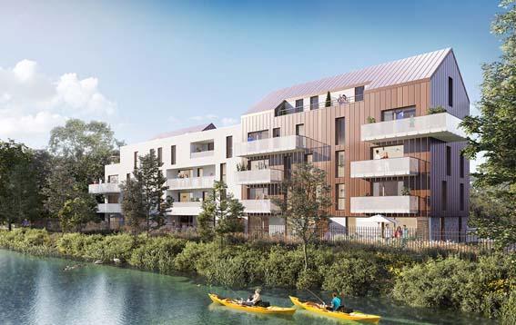 Groupe Duval appartement neuf Marquette-lez-Lille proche Lille