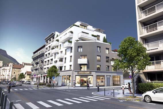 appartement neuf Grenoble quartier Berriat