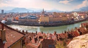 vue ville de Grenoble