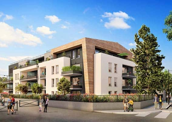 appartement neuf Grenoble quartier Bajatière