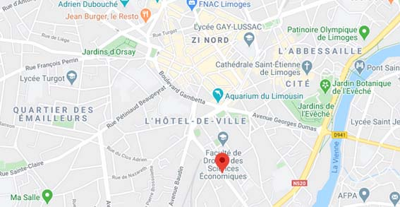 plan Limoges appartement neuf