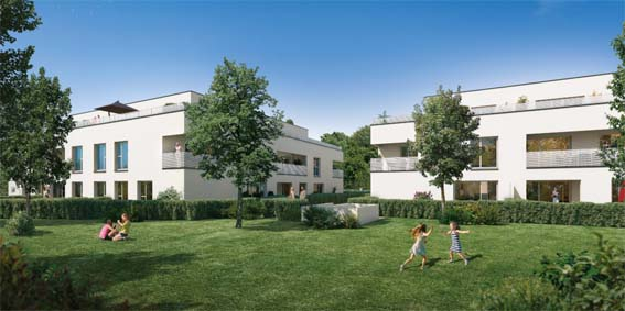 Saint Georges Promotion appartement neuf Tournefeuille proche Toulouse