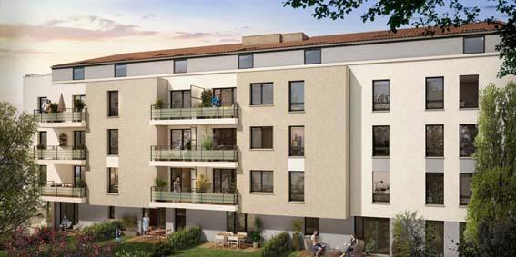 Saint Georges Promotion résidence neuve Middletown Toulouse