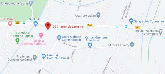 plan Tournefeuille appartement neuf