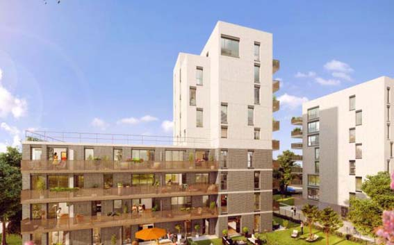 Groupe Pierreval appartement neuf Ivry
