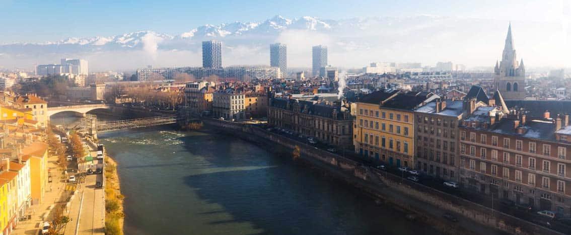 vue Grenoble appartement neuf